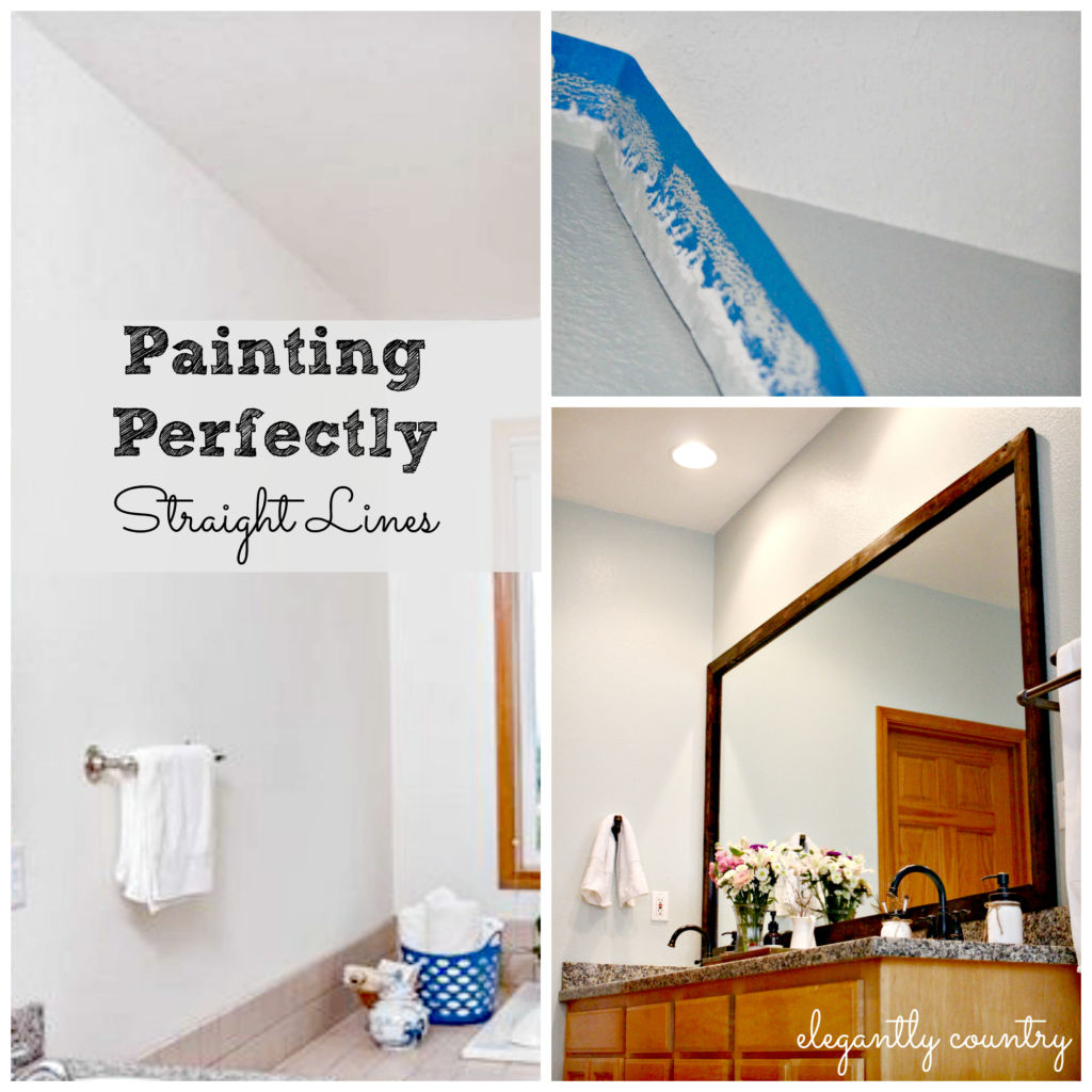 How To Paint Beautifully Straight Lines When Painting A Room