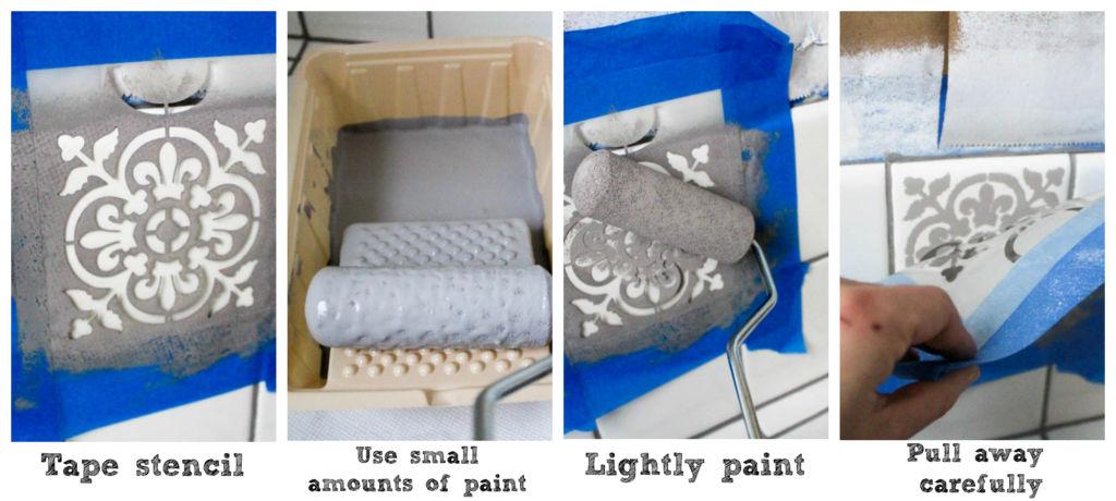 paint tile