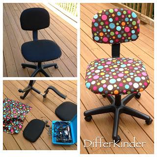 teacher chair makeover