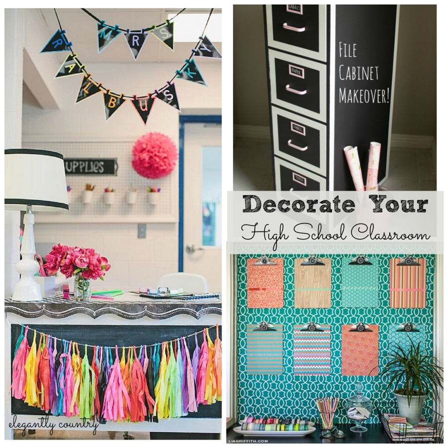 Classroom Decoration Printables For High School ~ Decoration organization for the high school classroom