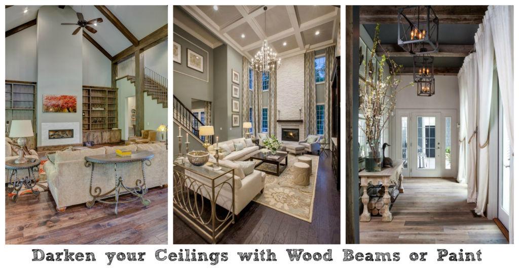 living room high ceilings