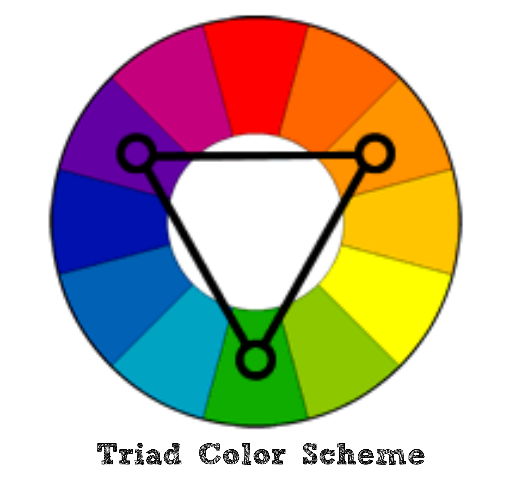 triad color scheme
