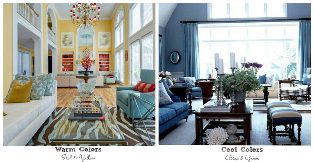 warm and cool paint colors