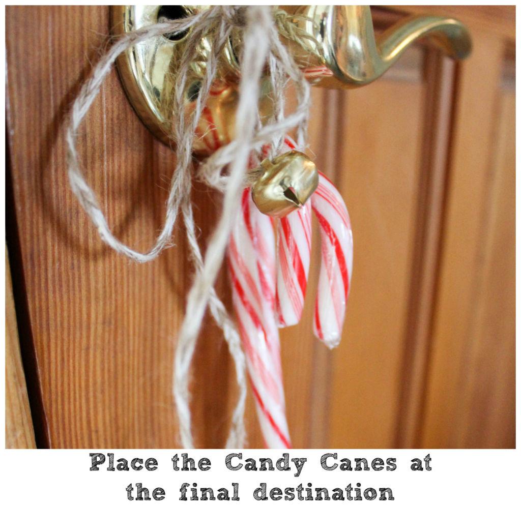 candy cane scavenger hunt