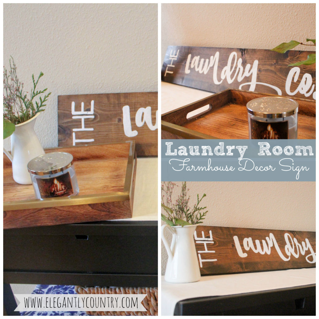 laundry room farmhouse decor sign