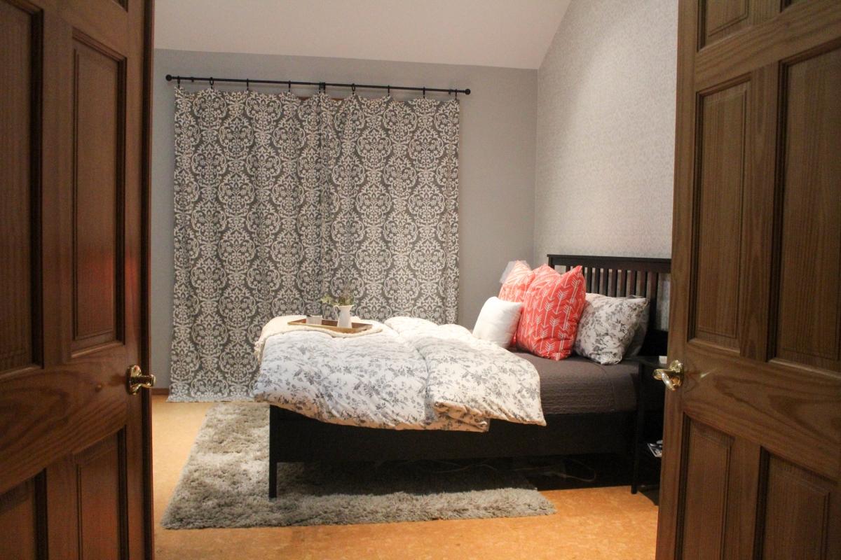 Diy Master Bedroom Curtains