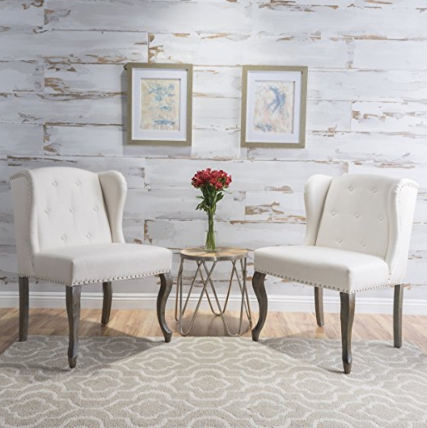 A Set Of Two Accent Chairs